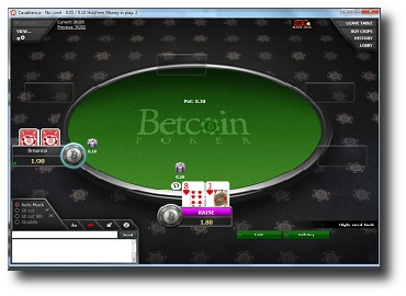 Betcoin Table