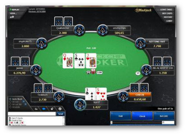 Black Chip Table