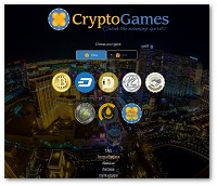 Crypto Games HomePage